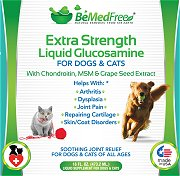 Liquid Glucosamine For Dogs And Cats by BeMedFree.com
