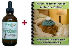 Contents of ParvoBuster All-In-One Parvo Kit