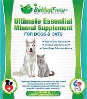 Trace Minerals For Dogs And Cats by BeMedFree.com